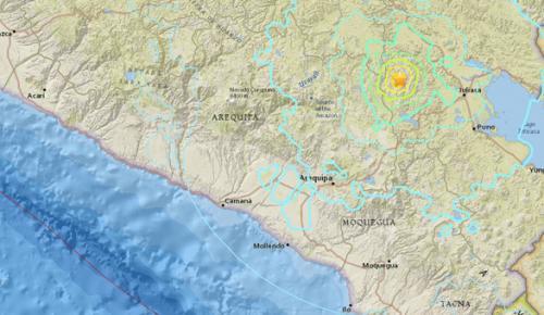 Peru'da 6.3 büyüklüğünde deprem
