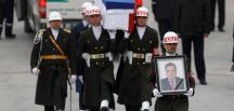 Rus Büyükelçi Karlov'un naaşı devlet töreniyle ülkesine uğurlandı