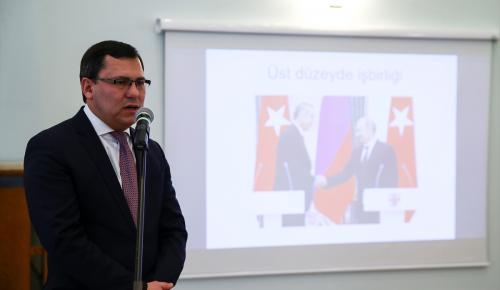 Rusya Federasyonu Türkiye Ticaret Mümessili Gaşigullin:
