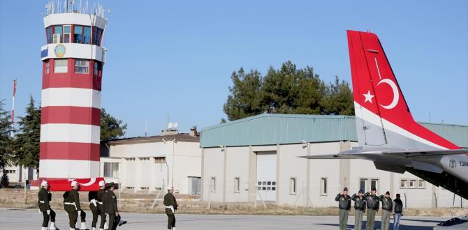 Şehit Uzman Çavuş Gaziantep'teki törenin ardından memleketi Afyonkarahisar'a uğurlandı