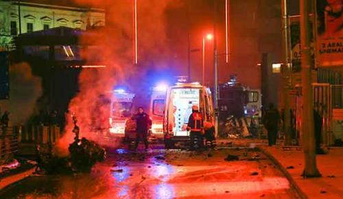 İstanbul Beşiktaş'ta 2 ayrı patlama!