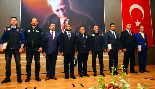 Suikast timinin yakalanmasında görev alan personele ödül