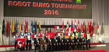 """""""Sumo robot"""" yarışında Türkiye yine birinci"""