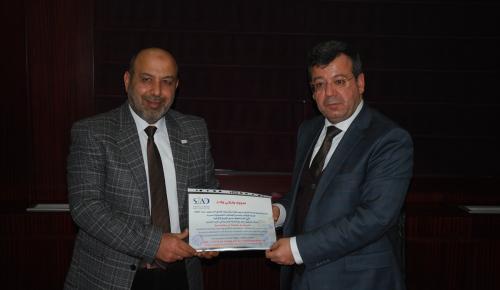 Suriyeli iş adamları GTO'yu ziyaret etti