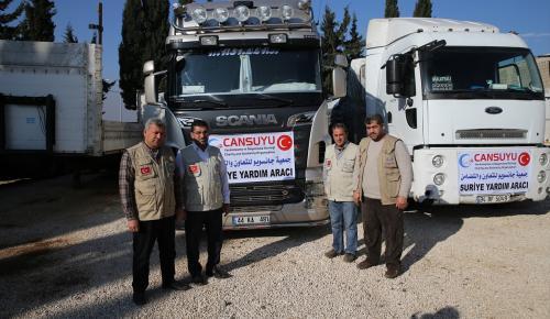 Suriye'ye un yardımı