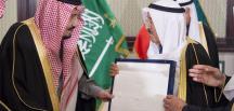 Suudi Arabistan Kralı Selman Kuveyt'te