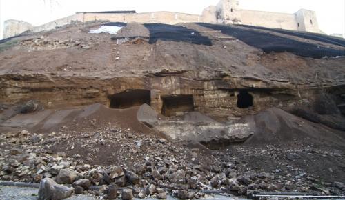 Tarihi Gaziantep Kalesi yenileniyor