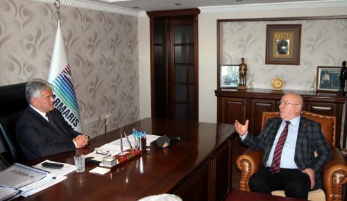 TGK Başkanı Kolaylı'dan Marmaris Belediyesine ziyaret