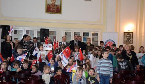 TİKA'dan Sırbistan'da eğitime destek
