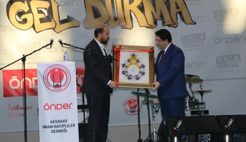 TÜRGEV Yönetim Kurulu Üyesi Erdoğan: