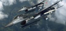 F16'lılar DEAŞ'lı 18 teröristi toplantı sırasında vurdu