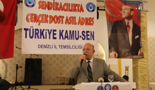 Türkiye Kamu-Sen Genel Başkanı Koncuk: