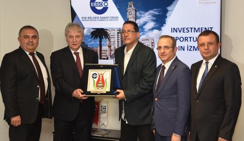 Venezuela Dış Ticaret Bakanı Tortosa İzmir'de