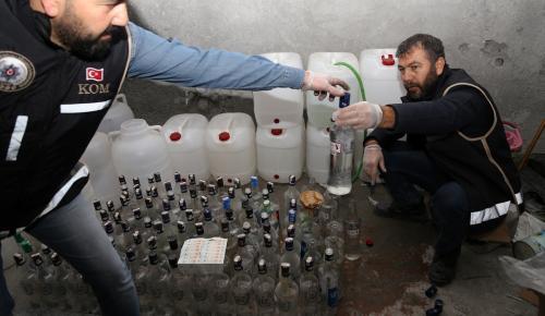 Yılbaşı öncesi sahte içkiye karşı operasyonlar