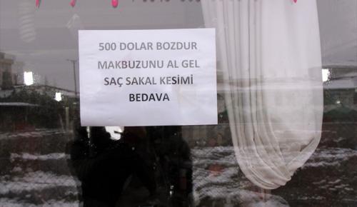 Yozgatlı esnaf Türk lirasına sahip çıkıyor