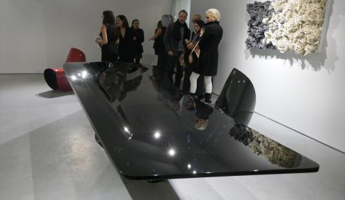 Zaha Hadid'in tasarımları New York'ta sergileniyor