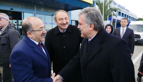 11. Cumhurbaşkanı Gül Trabzon'da
