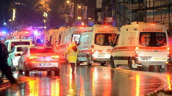 İstanbul'daki saldırı sonrası olay yerinden ilk görüntüler
