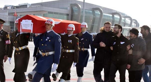 Şehit Astsubay Özdil Konya'da toprağa verildi