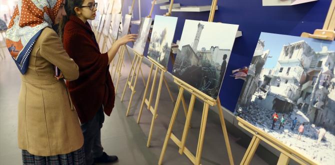AA foto muhabirleri, savaş bölgelerindeki deneyimlerini anlattı