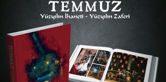 Adalet Bakanlığından 15 Temmuz'a özel kitap