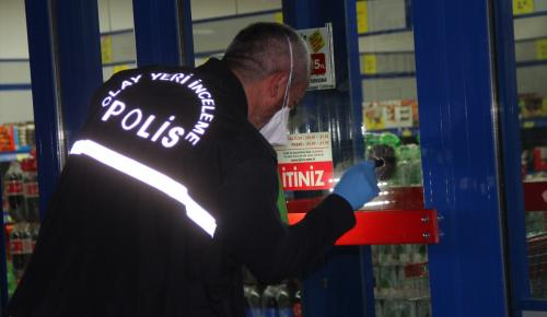 Adana'da marketten silahlı soygun