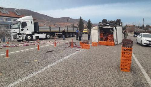 Adıyaman'da trafik kazaları : 6 yaralı