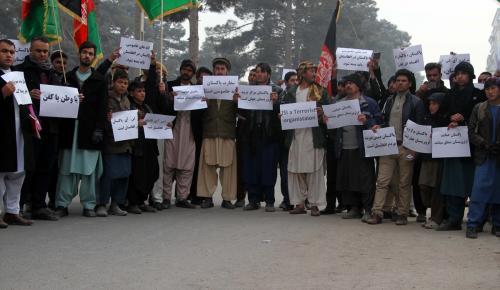 Afganistan'da Pakistan karşıtı gösteri