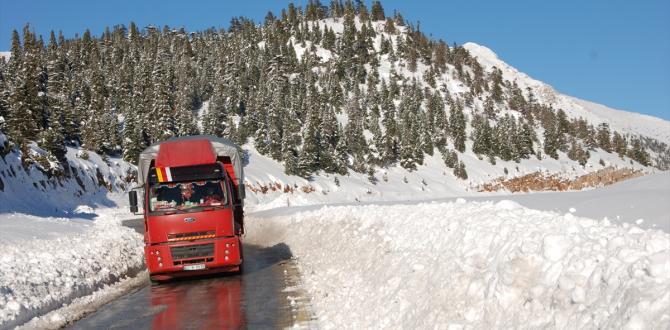 Akseki-Seydişehir karayolu trafiğe açıldı