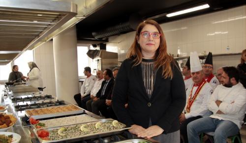 Alanya'da aşçılara yöresel yemek kursu