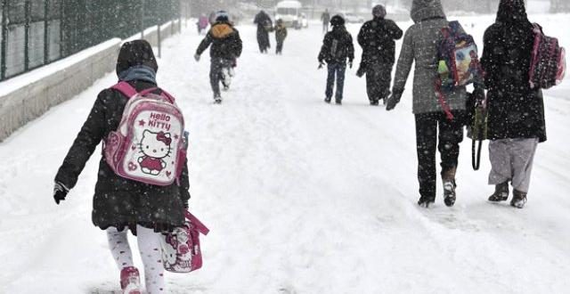 Kar tatili yarıyılda telafi edilecek