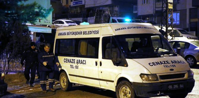 Ankara'da silahlı kavga: 2 ölü