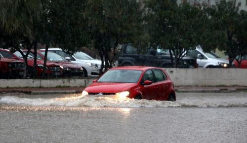 Antalya'da yağış