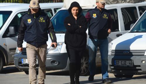 """Antalya'da """"ses kaydı"""" sahibinin gözaltına alınması"""