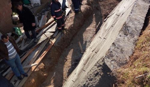 Artvin'de istinat duvarının altında kalan işçi öldü