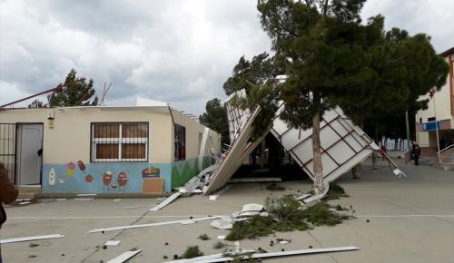 Aydın'da fırtına