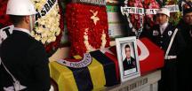 Aydın'da polis aracının kaza yapması sonucu şehit olan polis memurları için tören düzenlendi