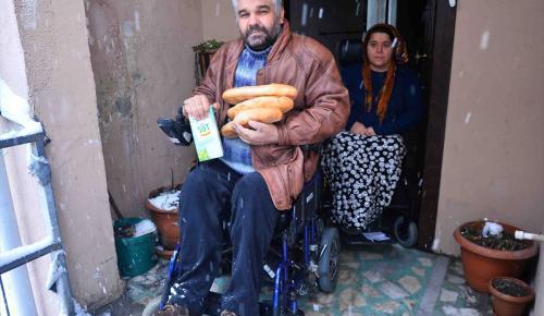 Bağcılar'da engelli ve yaşlılara yardım
