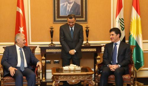 Başbakan Yıldırım Irak'ta