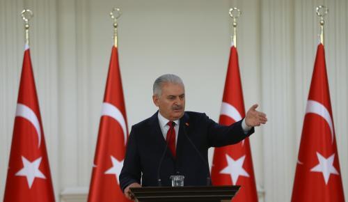 Başbakan Yıldırım, büyükelçilere hitap etti