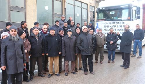 Başkent'ten Türkmenlere un yardımı yapıldı