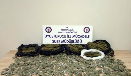 GÜNCELLEME – Bilecik'te uyuşturucu operasyonu