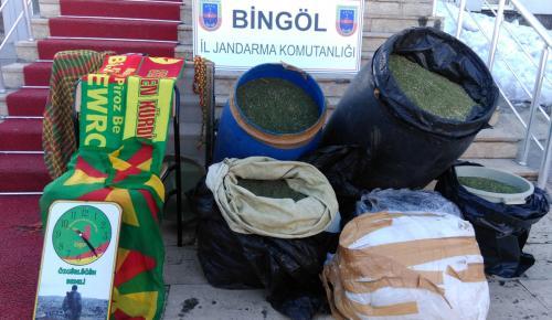 Bingöl merkezli uyuşturucu operasyonu