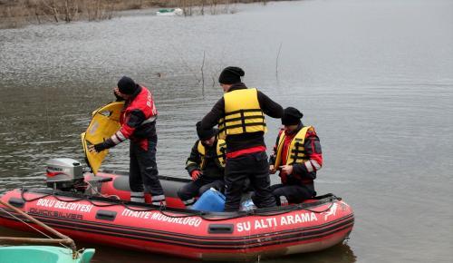 Bolu'da kaybolan iki kişiyi arama çalışması