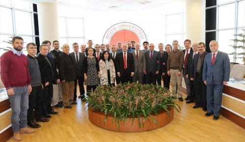 BÜ'den Cumhurbaşkanı Erdoğan'a destek bildirisi