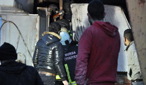 Bursa'da iş kazası: 1 ölü