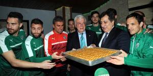 Bursaspor-Trabzonspor maçına doğru