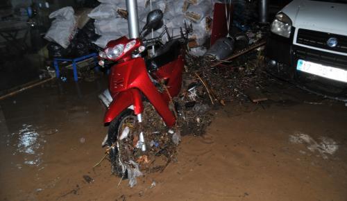 Çanakkale'de kuvvetli yağış