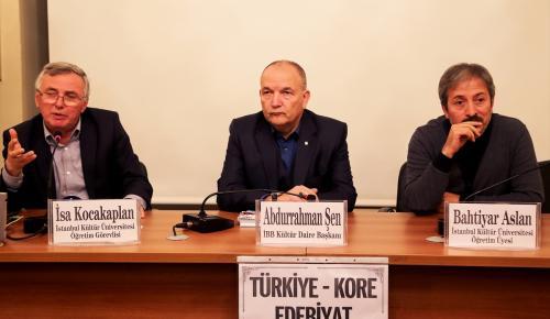"""""""Türkiye-Kore Edebiyat İlişkileri"""" konferansı"""