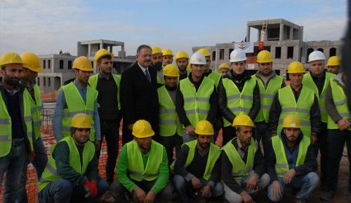 Çevre ve Şehircilik Bakanı Özhaseki Şırnak'ta